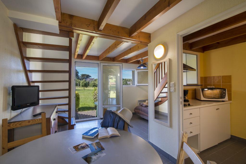 Le gîte de la clairière vous offre tout le confort nécessaire dans un espace de 45 m2