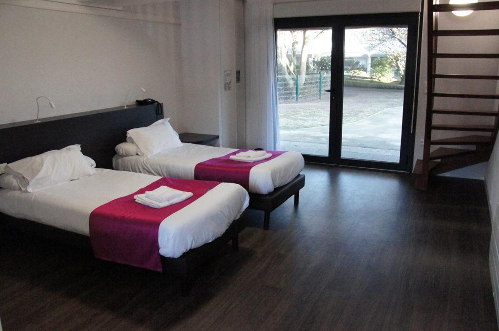 La Chesnaie, un hébergement en duplex  pour 5 personnes ou en chambre twin